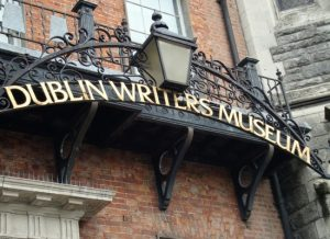 Dublin writers walking tour. guided walking tour Dublin