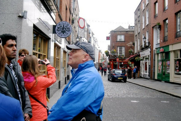 Liam Greene Dublin City Walks. Best Guided walking tours Dublin.