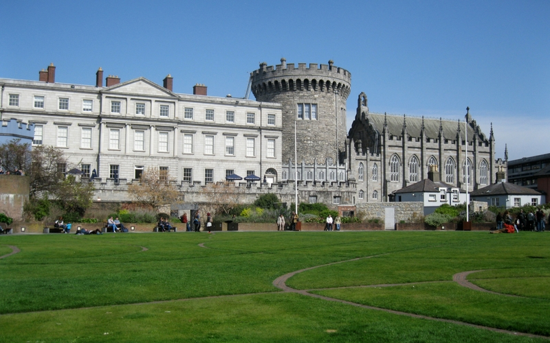 dublin castle walking tours.